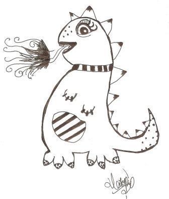 Dibujo de Triopía