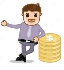 money-office-business-people-cartoon-character-vector-illustration-concept-drawing-art-young-businessman-standing-gold-32656885