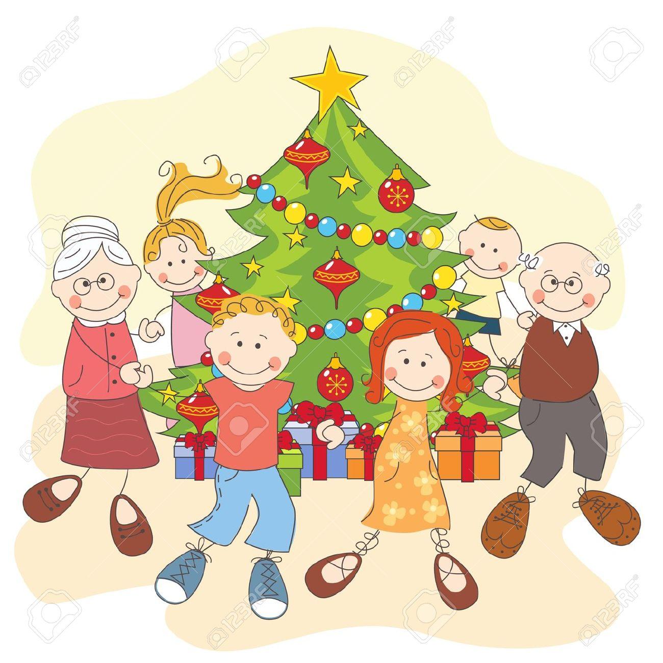 16843237-Navidad-de-la-familia-feliz-bailando-juntos