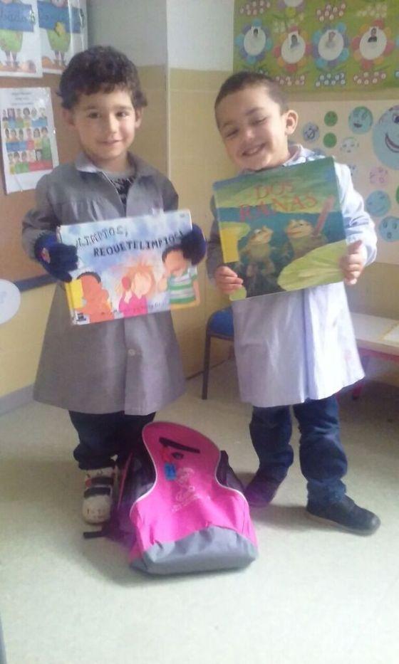 Adrián y Yassine